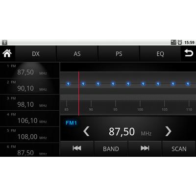 Штатное головное устройство Android Carsys CA5264 для Honda Civic
